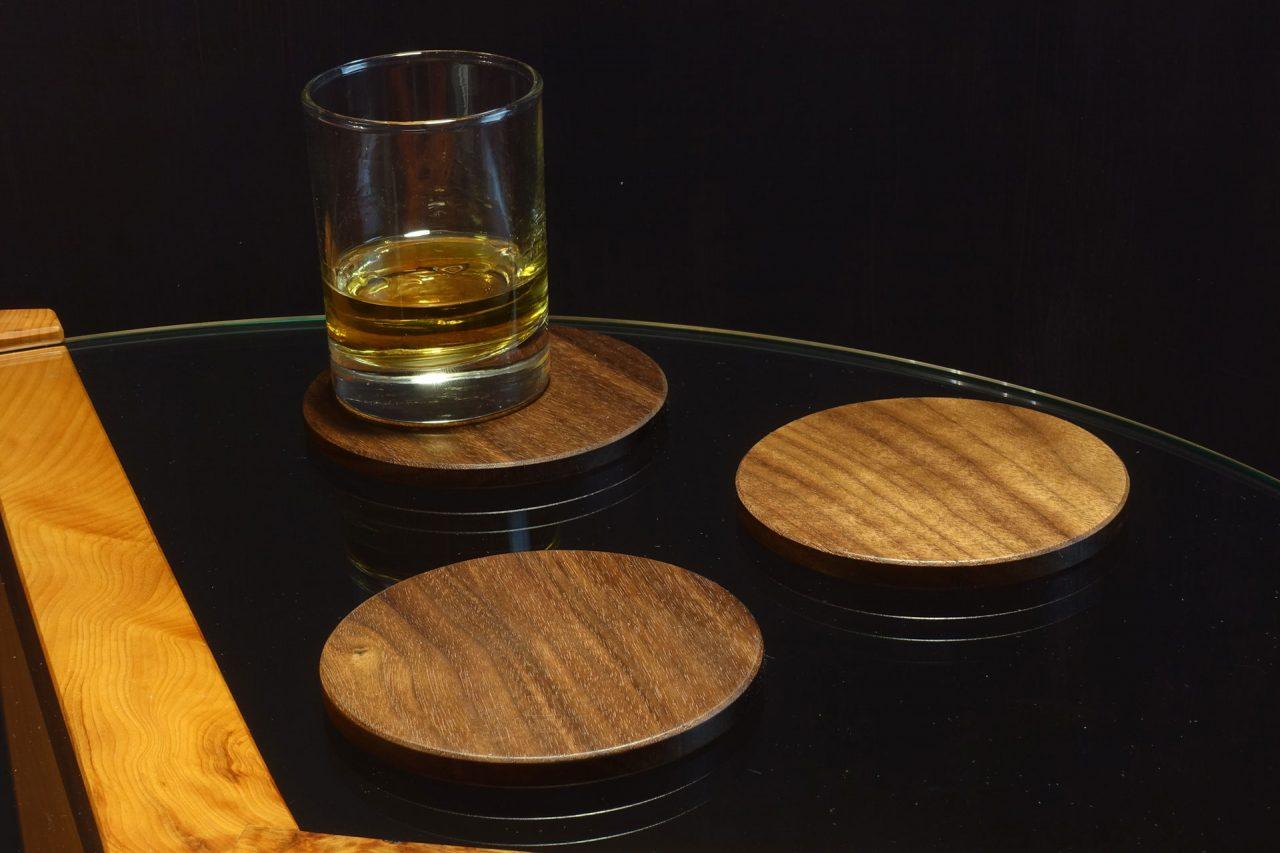 Walnut Coasters